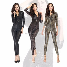 Wholesale Costumes For Adults Wholesale Sexy Faux Leather Cheap Latex Catsuit