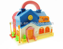 Funny Pretend Play Toy Doll House Set