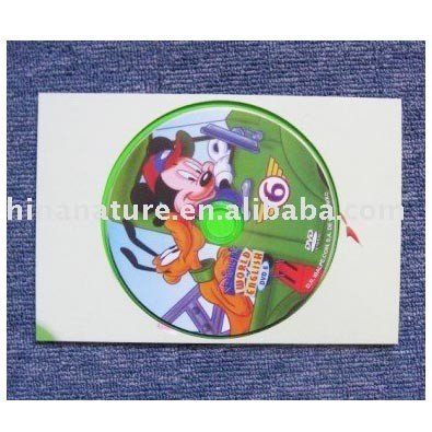 Hangzhou Nature CD/DVD/VCD Case Package Printing with Replication Service