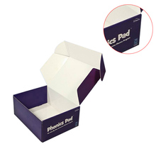 Corrugated paper clear display shoes box custom printed paper shoe boxes