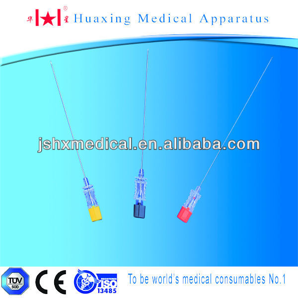 quincke type medical spinal needle
