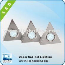 4.5W 3 Piece Triangular china made energy saving G4 led puck price