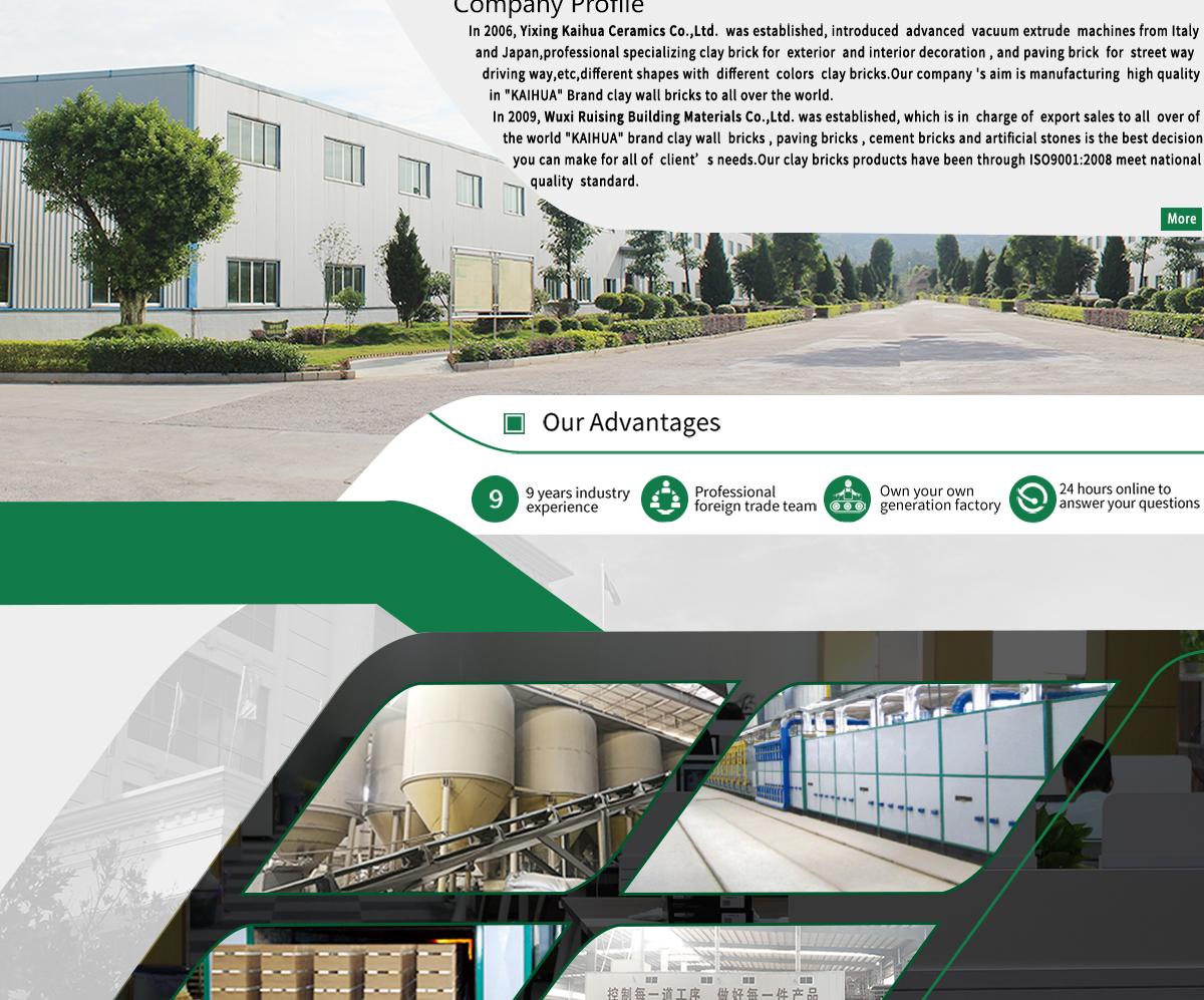 Wuxi Ruising Building Material Co., Ltd. - Brick, Clay Brick
