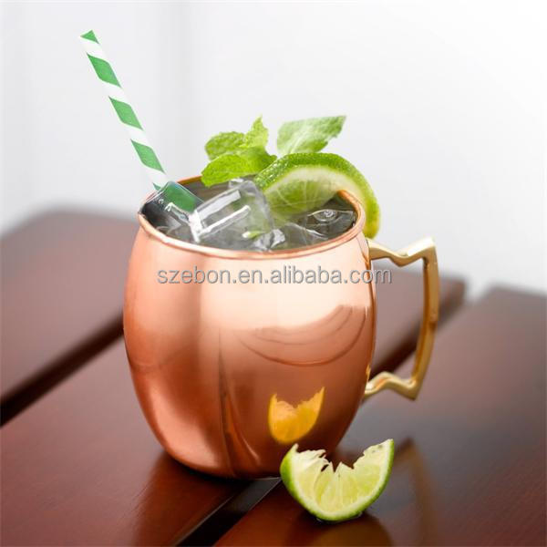 high quality FDA manufacturer moscow mule copper mug