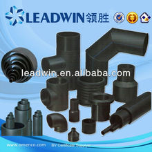 hdpe pe 63 80 100 hdpe pipe and hdpe fitting