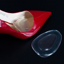 Women's high heels transparent silicone front shoe mat manufacturers