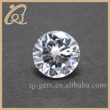 3.75mm AAA CZ Gem Round White Cubic Zirconia For Jewelery