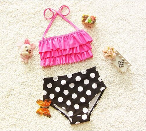 girls swimsuits child bikini kids swimwear children bathing suit cute swimsuit for baby girls high quality