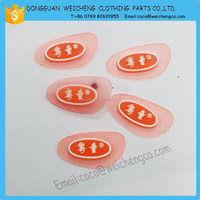 new design silicone PVC pen topper, printed patch for kid clothes