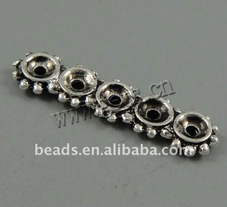 zinc alloy spacer bar for jewelry