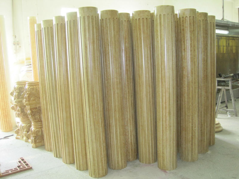 Pu Foam Polyurethane Plastic Pillars For Decoration