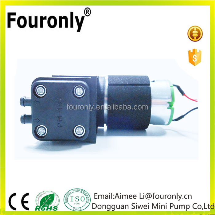 Fouronly 12 volt high pressure vacuum air pump for medical equipment use