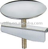 zinc chrome finished water tank cover for toilet