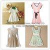 Used clothes in bales high quality new design lady silk dresses used women clothes 2015