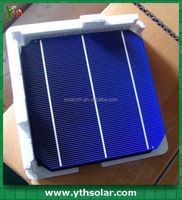 High Efficiency Monocrystalline Silicon Solar Cells 6x6 made in China for soalr panel
