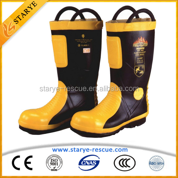 Puncture Resistance Safety Protective Fire Footwear