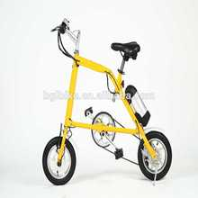 "12"" mini electric folding bike diecast toy bikes"