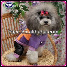 2013 fashional purple and orange pet dog clothes patterns