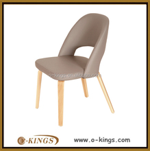 Modern restaurant PU leather dining chair supplier in China