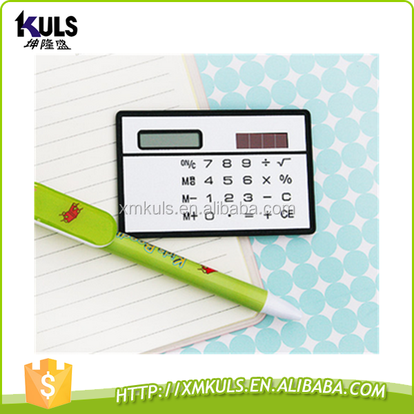 Card calculator portable ultrathin calculator funny calculator