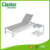 Powder coated Aluminum Sun lounger,Mesh fabirc sun lounger with wheels ,outdoor sun lougner for beaches and swimming pools