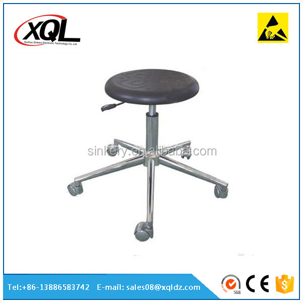 Durable cleanroom esd lab room stools chair