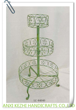 LC-84040 Metal Decorative 3-Layer Table Top Cup Cake Stand