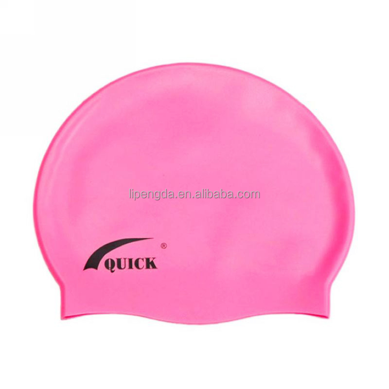 2016 Popular Colorful Waterpoof Summer Diving Promotional Swimming Hat