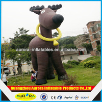 advertising inflatable cartoon character inflatable reindeer