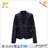 goose feather down jacket woman for winters