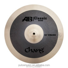 "Chang AB dark 16"" Crash Cymbals For Drums/Musical Instruments"