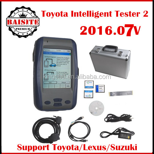 Wholesale V2016.07 TOYOTA DENSO Intelligent Tester 2,toyota it2,toyota tester 2 II toyota car diagnostic scanner tool