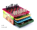 Colorful MDF 10 in 1 chess game set