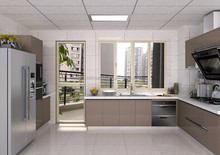 Modern lacquer modular kitchen cabinet door