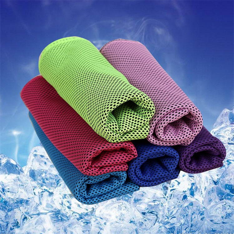 Multicolor Thickening Two Layer Cold Motion Leisure Time Sweat Cooling Icy Cold Towel