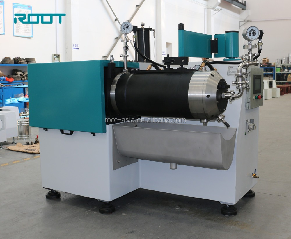Factory price horizontal bead mill for enamel pigment