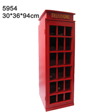 Living room furniture partition wood telephone booth cabinet