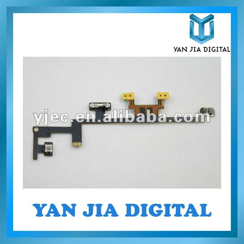 Power Volume Flex Cable for iPad 3