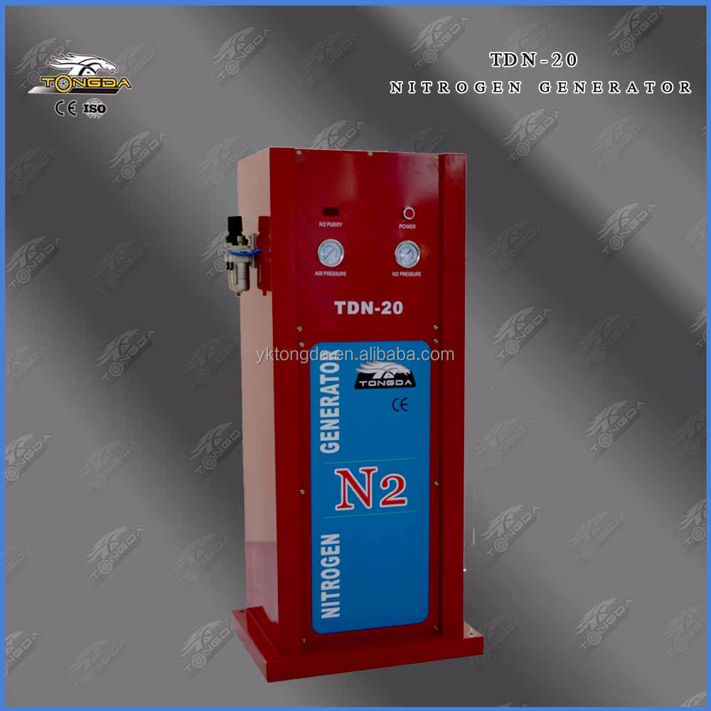 cheap nitrogen generator price with inside tank for car/bus/price for nitrogen gas