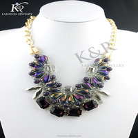 statement necklace crystal collar 2015 jewelry set wedding dream catcher necklace