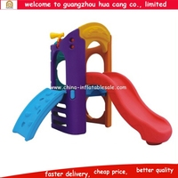 2016 outdoor garden kids plastic slide kids play toys
