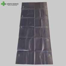 hospital stretcher rubber bed sheets