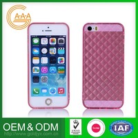 New Stylish Logo Printed Cell Phone Accessory Colorful For Iphone 5 Tpu Case