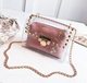 Special Offer 2018 New Single Crystal Transparent Jelly Bag Handbag Shoulder Bag, High Quality Shoulder Bag,Pvc shoulder bag