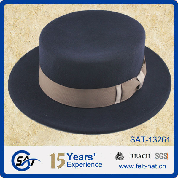 Brown Amish Felt Hat