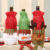 wholesale artificial christmas tree wine bottle ornament christmas