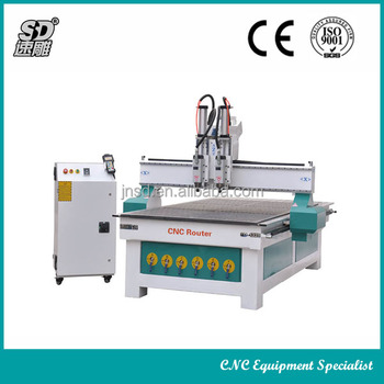 SD 1325D Hot sale Two process CNC Router