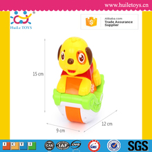 Huile plastic sliding dog toys 2016 for kids