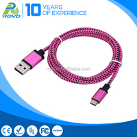 Type-C Connector Usb 3.1 charging cable for mobile phone