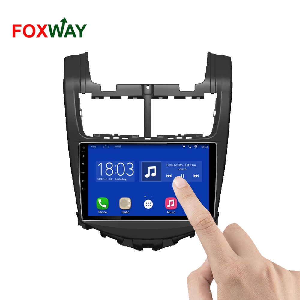 FOXWAY wholesale all in one for chevrolet aveo car radio navigation system